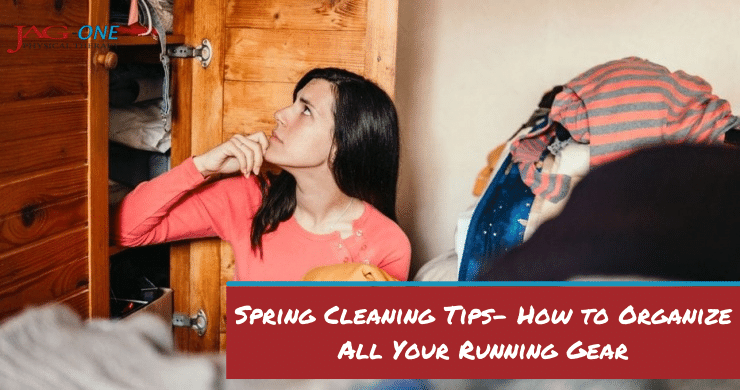 Spring Cleaning Tips- How to Organize All Your Running Gear