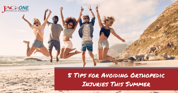 5 Tips for Avoiding Orthopedic Injuries This Summer