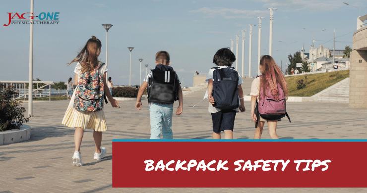 Backpack safety tips