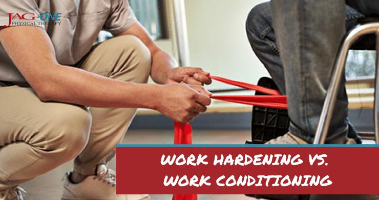 Work Hardening vs. Work Conditioning