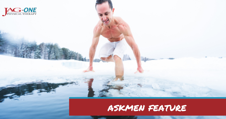 AskMen Feature: Benefits of Ice Baths for Muscle Recovery