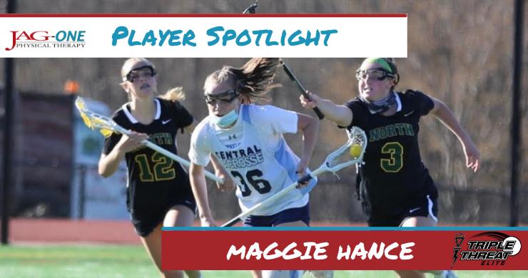 Triple Threat Lacrosse Player Spotlight: Maggie Hance