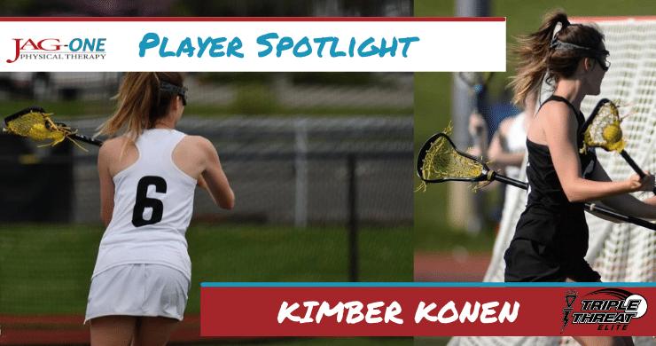 Triple Threat Lacrosse Player Spotlight: Kimber Konen