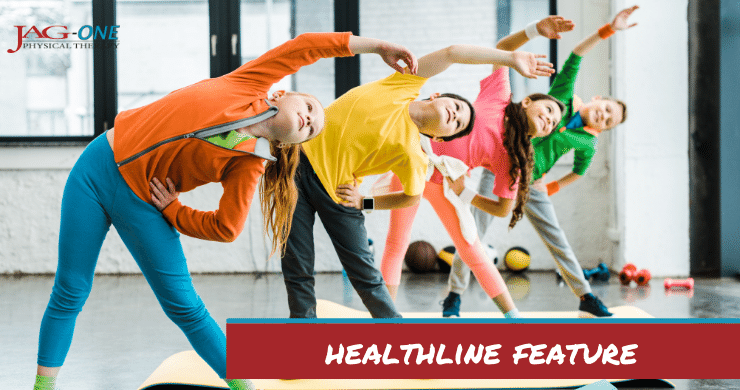 Healthline Feature: How to Inspire a Love of Movement from an Early Age