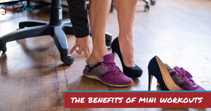 Healthline Feature: Mini Workouts Are a Great Option When You're Crunched for Time