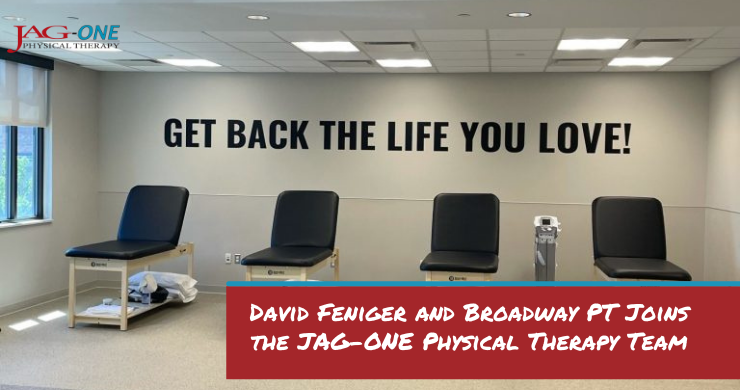 David Feniger and Broadway PT Joins the JAG-ONE Physical Therapy Team